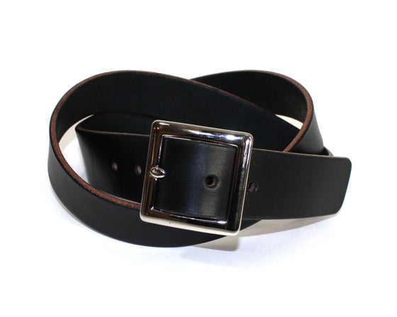 Image of SQUARE BELT - BLACK