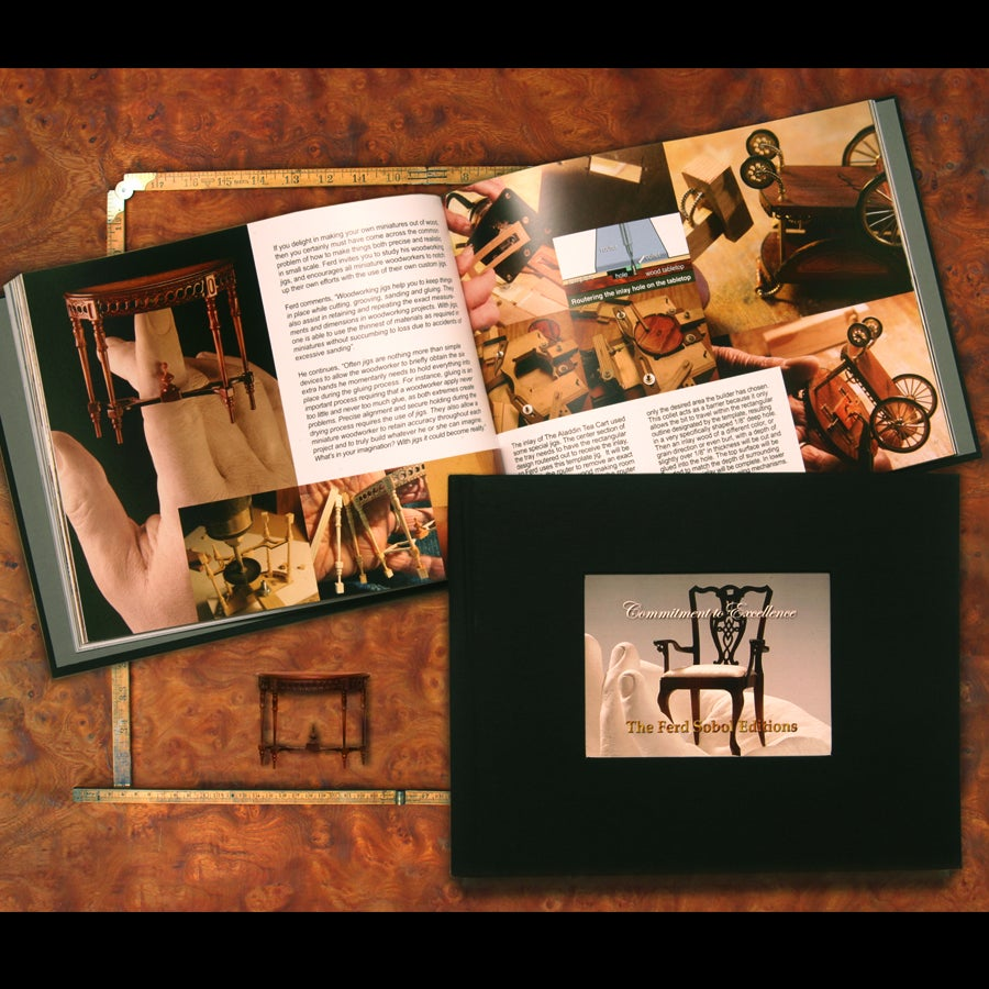 Image of The Ferd Sobol Editions Commitment to Excellence Book
