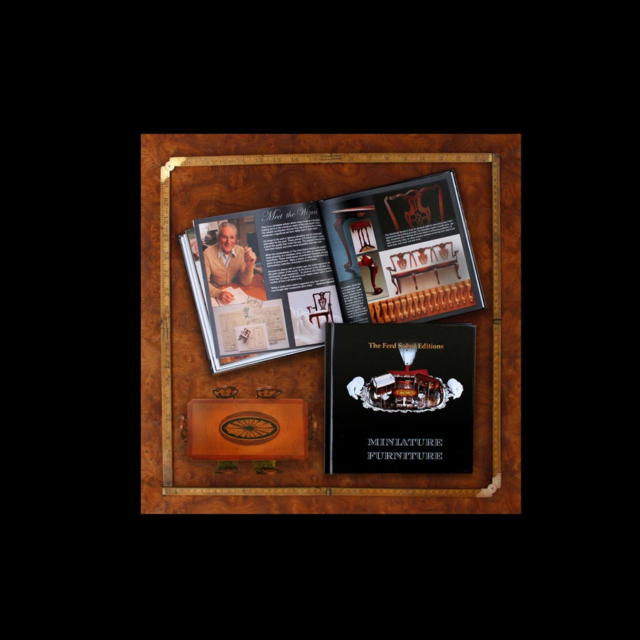 Image of The Ferd Sobol Editions Miniature Furniture book