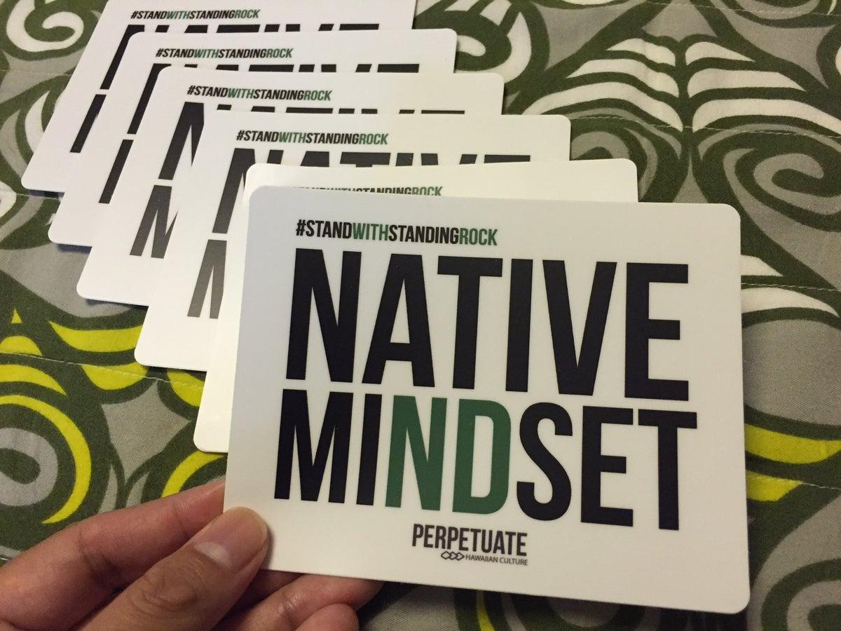 Image of Native Mindset Sticker