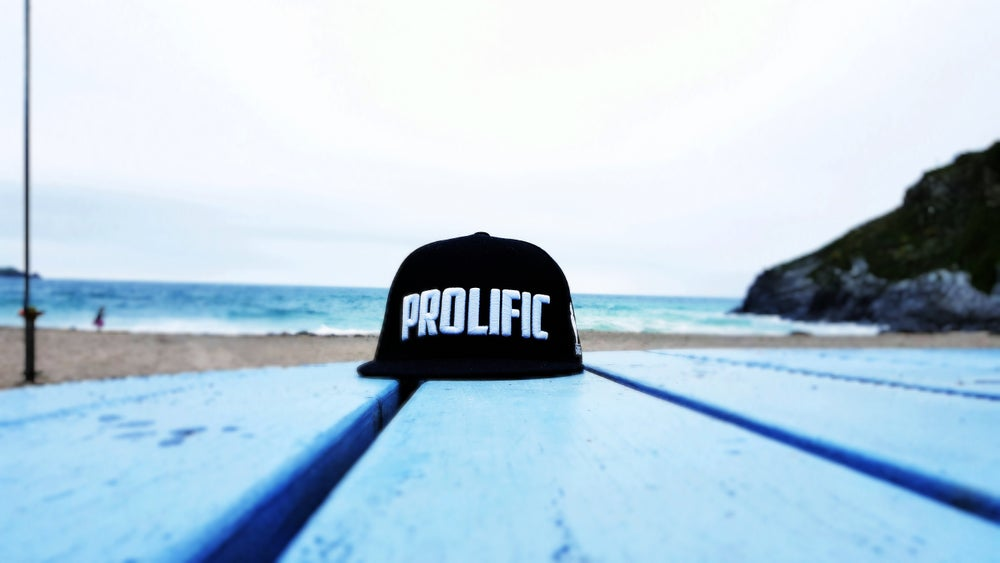 Image of Prolific Snapback - Black