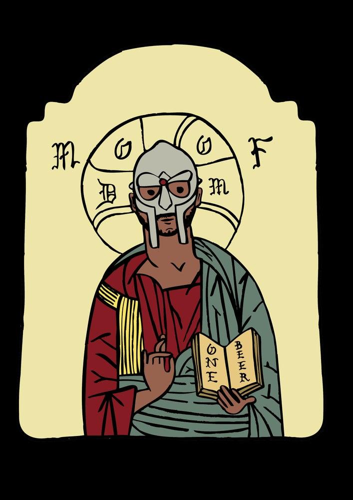 Image of MF DOOM Print.