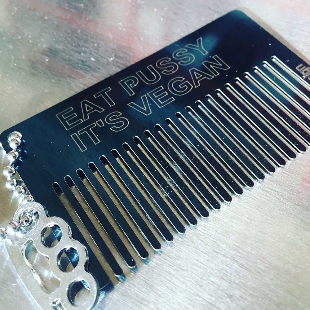 Image of Beard Comb - Eat Pussy