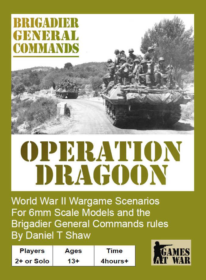 Image of Operation Dragoon Scenario Book