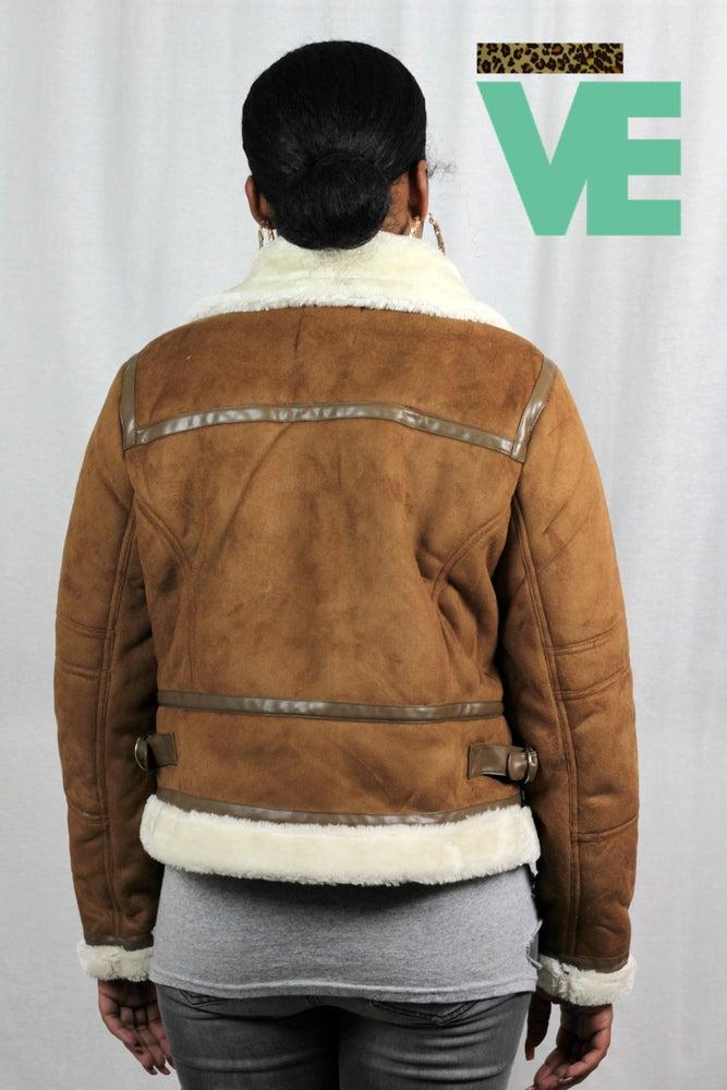 Image of Motorcycle Shearling Jacket