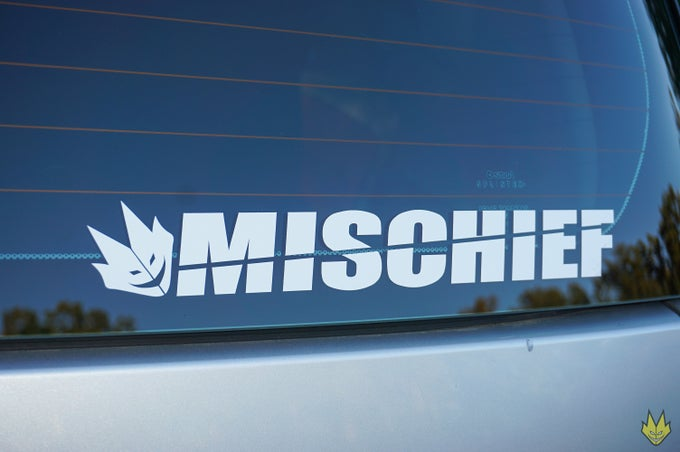 Image of Mischief 2pcs Sticker Set