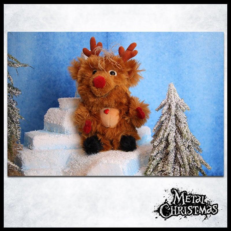 Image of Metal Christmas - Plüschtier (inklusive Versand)