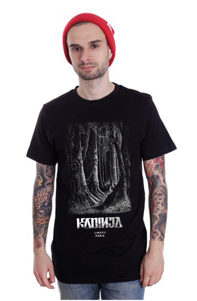 "Image of KADINJA ""FOREST"" TEE"