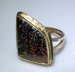 Image of Asymmetrical Opal Ring