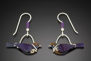Image of Bird Earrings
