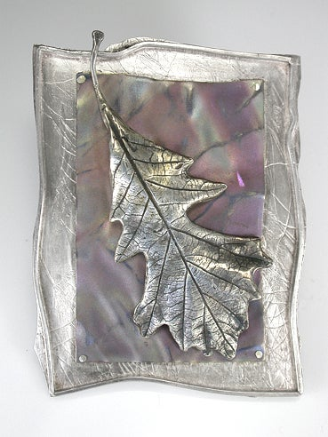 Image of Oak Leaf Layered Pin