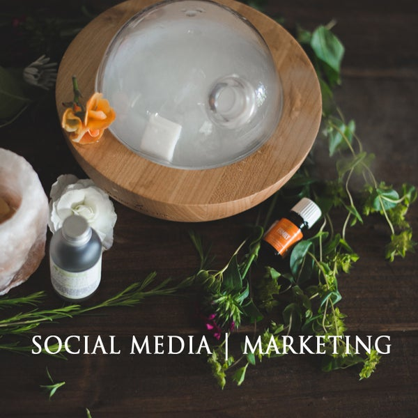 Image of Social Media + Marketing.