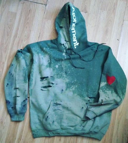 "Image of The ""Alpha Male"" Olive Hoodie"