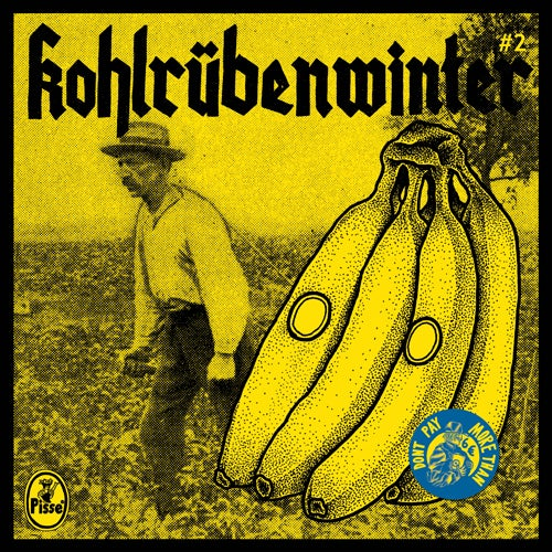 "Image of Pisse - Kohlrübenwinter #2 7"" (3rd press)"
