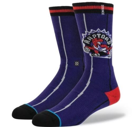Image of TORONTO RAPTORS STANCE HOOPS NBA HWC MENS SOCKS