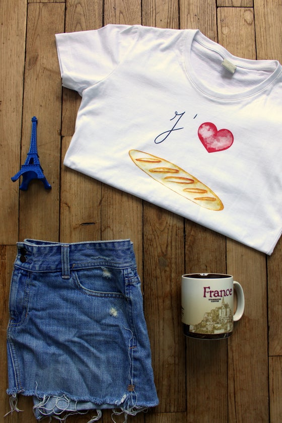 Image of Baguette Love T-Shirt