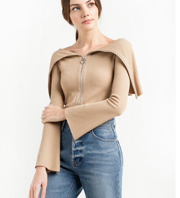 Image of The new women 's sexy sweater shirt