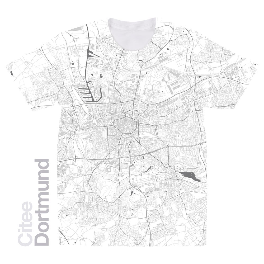 Image of Dortmund map t-shirt
