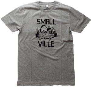 Image of Smallville Shirt Logo - heather grey/ black