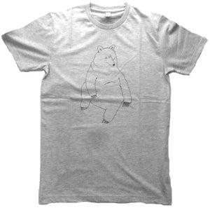 Image of Smallville Shirt Bear - heather grey