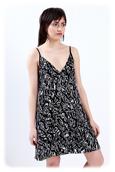 Image of Fully Reversible A-Line Slipdress