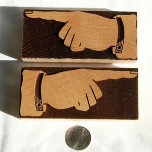 Image of A 12 Line pair of Tubbs Solid Manicules