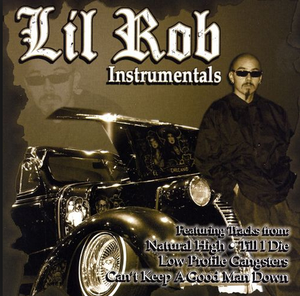 Image of Lil Rob Instrumentals CLASSIC CD