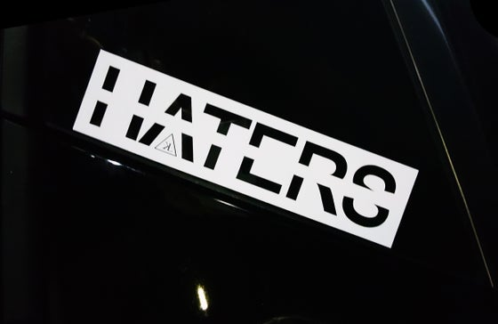 Image of HATERS strikeout