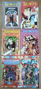 Image of Gun Fu #1, Gun Fu: The Lost City #1-4, Gun Fu: Showgirls are Forever #1