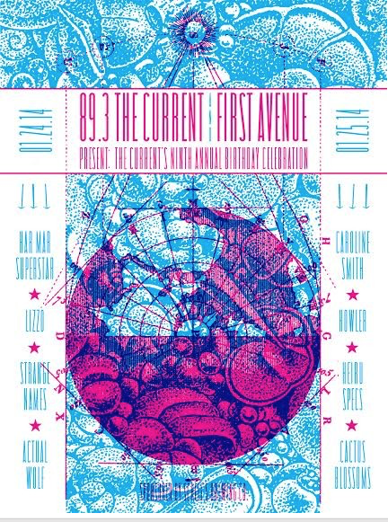 Image of 89.3 The Current 9th Anniversary Show - January 24 & 25, 2014 Mpls, MN