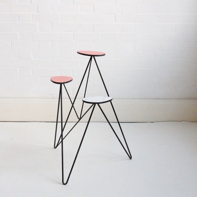 Image of Midcentury plant stand c1960