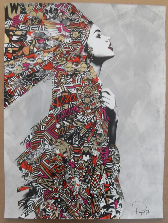 "Image of PREFAB 77 ""SUNDAY GIRL"" HAND FINISHED ARTIST PROOF - 75CM X 56CM"