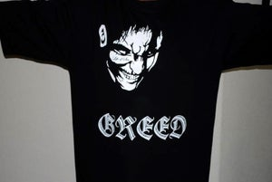 """Image of """"GREED"""""""