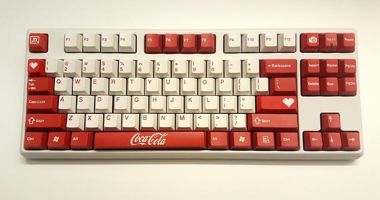 Image of JT Keycap Cola Keyset