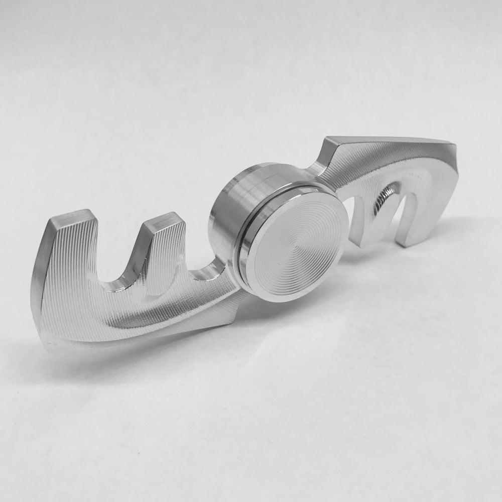 "Image of Aluminum Double ""F"" Fidget Toy Spinner w/ Full Ceramic Bearing"