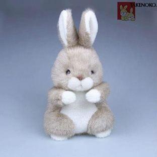 Image of TAKENOKO Plush Bunny Stuffed Animal With Free Gift