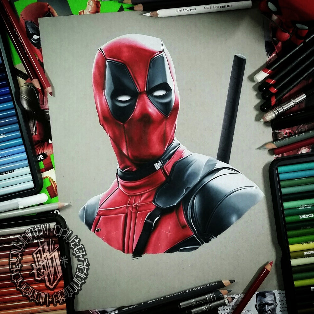 Image of Limited edition deadpool print