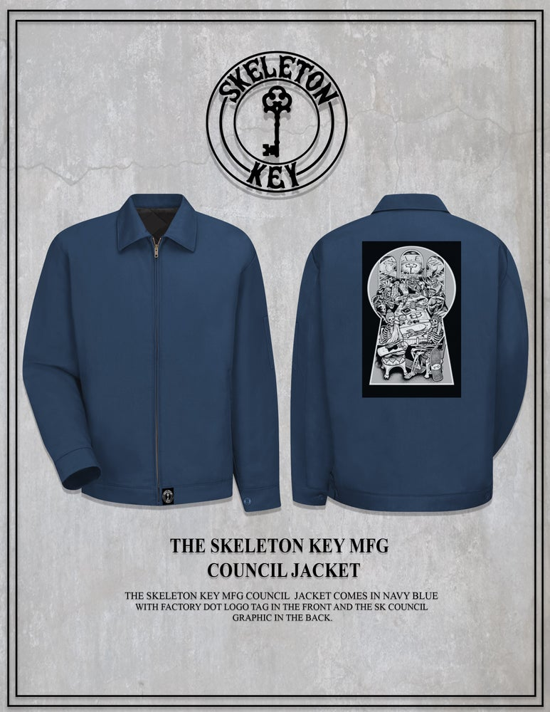 Image of SKELETON KEY MFG COUNCIL JACKET