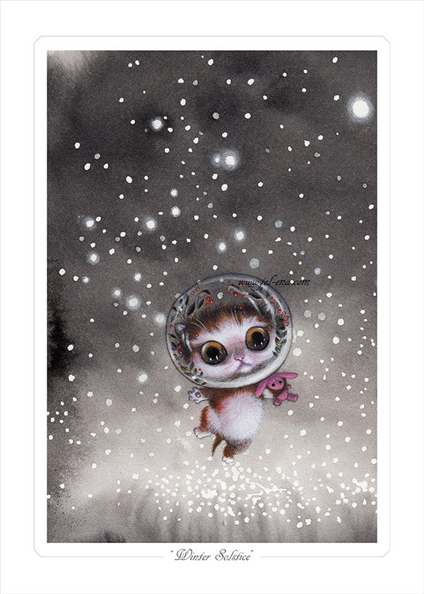"""Image of """"Winter Solstice"""" Limited edition Print"""