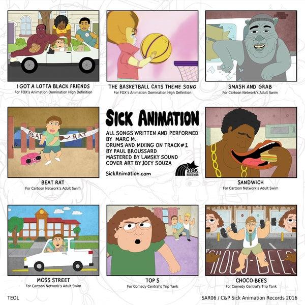 8 Song Flexi - Sick Animation Shop