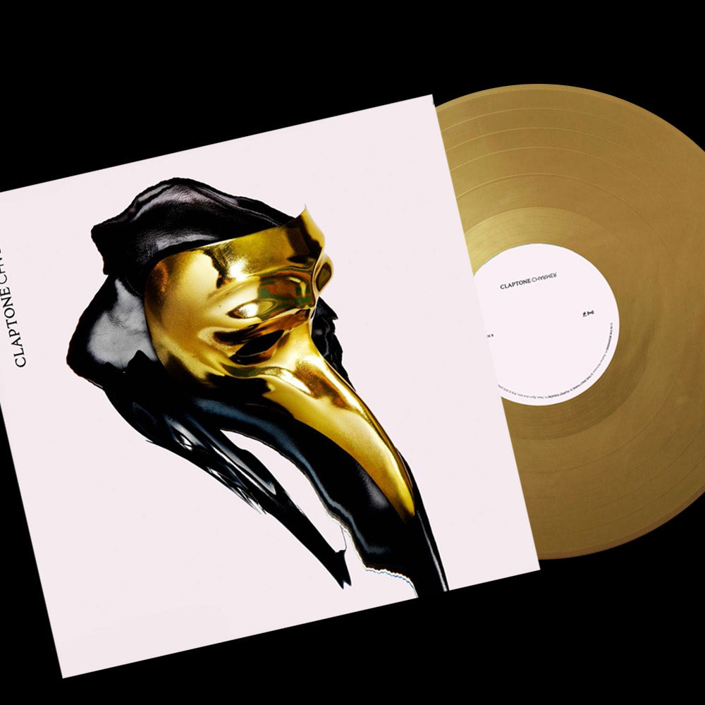 "Image of 2LP ""Claptone - Charmer"" Golden Vinyl Limited"