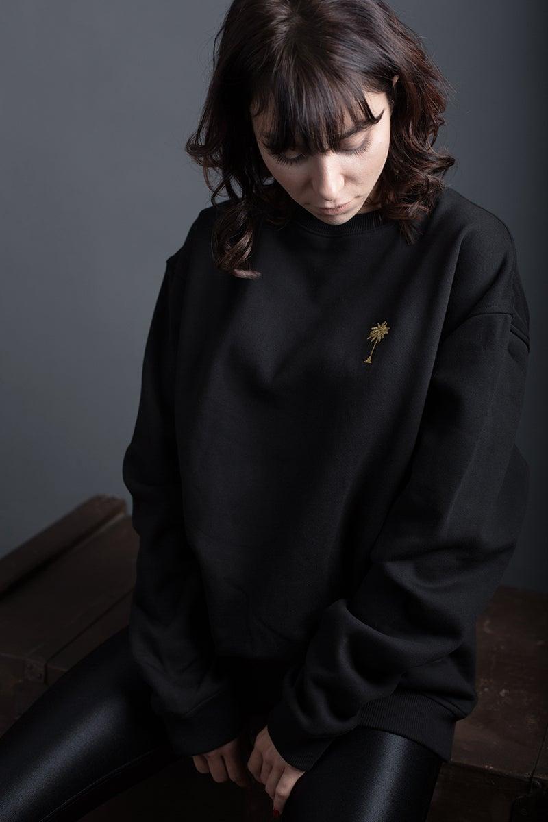 Image of SWEATSHIRT / BLACK / WOMAN