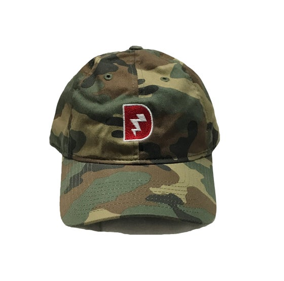 Image of Signature D Dad Hat - Army