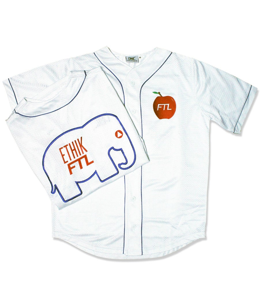 Image of FTL X Ethik NYC Heavy Weights Jersey