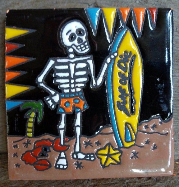 Image of Surf or Die Coaster Tile