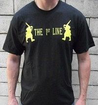 Image of The 1st Line Samauri Logo Shirt - Mens