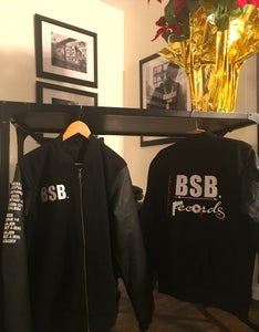 Image of BSB RECORDS VARSITY TEAM JACKETS w/ Album Sleeve