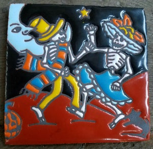 Image of Midnight Dance Coaster Tile