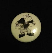 Image of The Booze Hounds - No Sympathy Bulldog Button