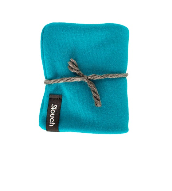 Image of Turquoise Slouch Beanie